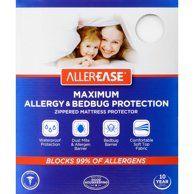 Original Bed Bug Blocker Zippered Mattress Cover Protector Walmart Com Allergy Bedding Mattress Protector Bug Protection