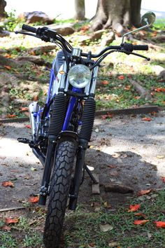 XLX 250 Tracker by Deal Cycle | Garagem Cafe Racer