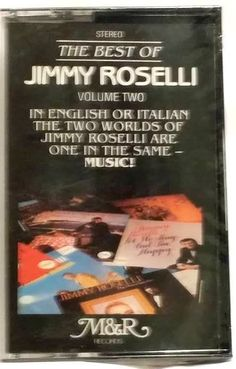 Best of JIMMY ROSELLI Vol 2 CASSETTE TAPE - NEW/Factory Sealed #TraditionalVocal