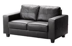 Skogaby Sofa – Leather Loveseat from Ikea $579
