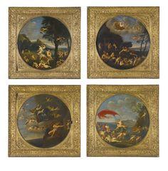 Allegory of the FOUR ELEMENTS: Francesco Albani, (1578–1660)
