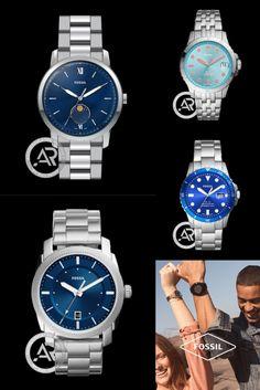 Το weekend ξεκινά - ας το συνοδέψουμε με νέες, καλοκαιρινές επιλογές σε γυναικεία & ανδρικά ρολόγια #Fossil ⌚️ Fossil Watches, Rolex Watches, Accessories, Shopping, Jewelry Accessories