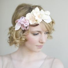 Flower Headpiece For Weddings Collar City Brownstone