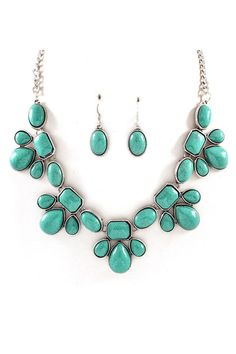 Maya Necklace in Turquoise