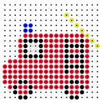 De brandweer-olifant Fuse Beads, Perler Beads, Fire Safety For Kids, Lego Mosaic, Easy Perler Bead Patterns, Pixel Art Grid, Tapestry Crochet Patterns, Block Craft, Iron Beads