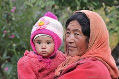 With grandma / cha-mo bcsasz ma-mo | Lamayuru - Ladakh - Wes… | Flickr