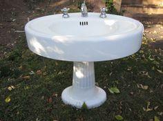 Retro Pink Standard Sink Amp Lowboy Toilet Antique