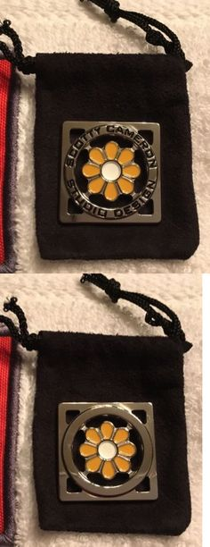 Ball Markers 18928: Scotty Cameron Studio Orange And White Flower Square Round Coin Ball Mark Marker -> BUY IT NOW ONLY: $129 on eBay!