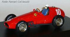 Ferrari 625/F1 1954 de Quartzo a 1:43, de Giuseppe Farina del GP de Argentina. Serie limitada de 2500 unidades, ejemplar nº1760/2500