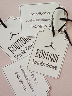 Boutique Sainte Beuve is a boutique retailer for young women. Their style is feminine, girly & classy and they needed a cute & flirty identity to complete and reinforce the custumer experience for their clients.