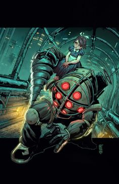 Cafaro's Bioshock Pinup by Ross-A-Campbell on deviantART