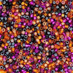 Size 15 Spooky Round Japanese Seed Bead Mix by FusionBeads.com® | Fusion Beads