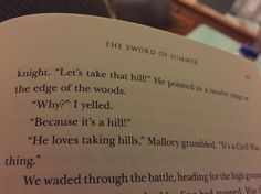 TJ, Mallory, and Magnus Chase in The Sword of Summer
