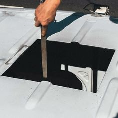 Easy instructions for a roof vent fan install in a campervan conversion! Great for #vanlife adventures, camping and road trips. Keep the moisture and smells out of the kitchen with a fan that fits any layout.