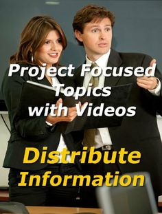 Project Focused Topic with Video: Distribute Information by Dick Billows. $9.84. Publisher: The Hampton Group, Inc (December 1, 2011). 31 pages