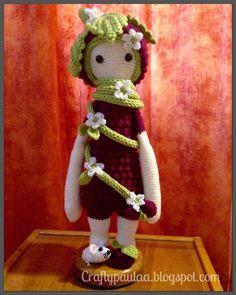BERT the blackberry made by Paula D. / crochet pattern by lalylala