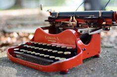 RARE Corona 3 Special Typewriter (RED) #Corona