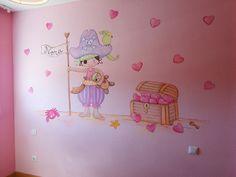 dibujos en paredes para bebes y niños