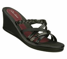 SKETCHERS Women's Rumblers - Sparks Fly $40.00-I have been searching for the perfect dress sandals for forever!  At last I've found them! :)