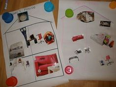 Use IKEA catalogs to teach furniture/rooms/prepositions