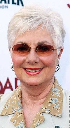 Haircuts for Women over 50 with Fine Hair and Glasses