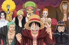 Luffy and the crew cosplay as Star Wars! Anime One Piece, One Piece ルフィ, One Piece Chapter, Zoro One Piece, 0ne Piece, Nico Robin, Roronoa Zoro, Zoro Nami, Chewbacca