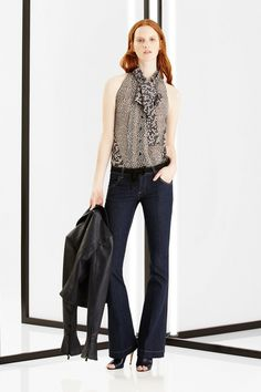 Carolina Herrera New York Pre-Fall 2016 Carolina Herrera, French Girls, Palvin, Dark Blue Jeans, York, Office Fashion, How To Feel Beautiful, Danny, Fall 2016