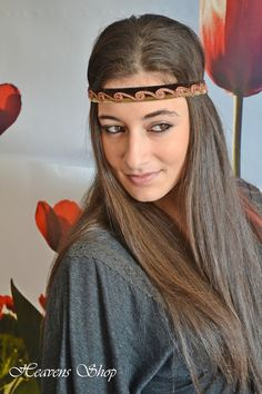 Hey, I found this really awesome Etsy listing at https://www.etsy.com/il-en/listing/155080778/bohemian-headband-olive-green-and-brown