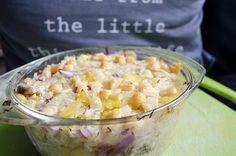 Recept voor een gemakkelijke zuurkoolschotel zonder aardappel. Gezond en heel erg goed voor een gezonde darmflora omdat zuurkool gefermenteerd is.