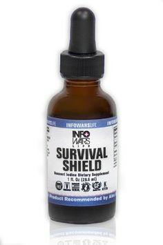 Survival Shield - Nascent Iodine Survival Shield® is the Infowars Life brand of standardized nano-colloidal nascent iodine. It is manufactured with a unique transformative bio-elemental matrix using a proprietary process.