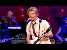 DAVID BOWIE LIVE- DAVID LETTERMAN - New Killer Star