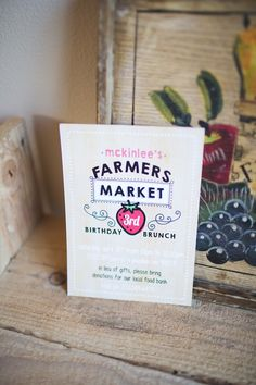 Farmer's Market Birthday Brunch via Kara's Party Ideas! KarasPartyIdeas.com (24)