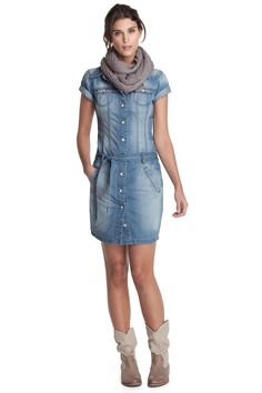 7 Best Esprit images   Chambray dress, Dress shirt, Outfits 59f437fa6f