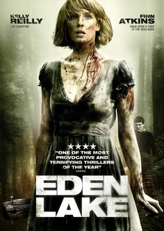 Eden Lake is a 2008 British horror thriller film written and directed by James Watkins (The Woman in Black). It stars Kelly Reilly, Michael Fassbender and Jack O'Connell. http://horrorpedia.com/2015/03/04/eden-lake/
