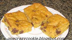 One Crazy Cookie: Pumpkin Chocolate Chip Pan Cookies
