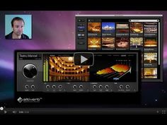 Music Production - Altiverb 7 guided tour - BTV Professional Music Production Software works as a standalone application or with your DAW as a VST or AU plugin (optional). Studio Software, Tour Guide, Inventions, Plugs, Opera House, The Originals, Music Production, Toy, Music