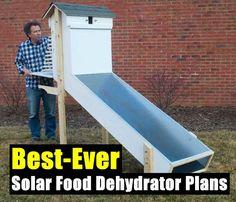 Best-Ever Solar Food Dehydrator Plans - SHTF Preparedness