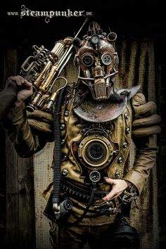 "Steampunk Tendencies | ""Time-Warrior"" by www.steampunker.de https://www.facebook.com/groups/steampunktendencies/permalink/656302437757529 New Group : Come to share, promote your art, your event, meet new people, crafters, artists, performers... https://www.facebook.com/groups/steampunktendencies"