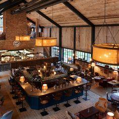 Copyright: soho_farm house main barn restaurant