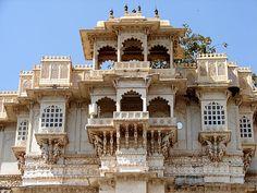 City Palace Udaipur - Rajasthan - India