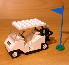 Cool Custom Golf Cart for Town City Club Train Lego White Golfer Gift Set Flag | eBay