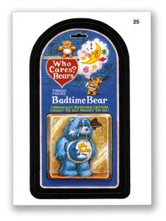Wacky Packages Topps 2004 1st Series: Who Cares Bears? - #25