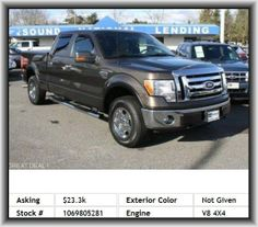 2009 Ford F-150 XL Pickup  Overall Height: 76.4, Rigid Axle Rear Suspension, Front Ventilated Disc Brakes, Tire Pressure Monitoring System, Passenger And Rear, Three 12V Dc Power Outlets, Leaf Rear Suspension, Door Pockets: Driver, Fold-Up Cushion Rear Seats, Overall Width: 78.9, Right Rear Passenger Door Type: Conventional, Abs And Driveline Traction Control, Rear Shoulder Room: 65.6, Overhead Console: Full With Storage, Fuel Capacity: 36.0 Gal., 1St And 2Nd Row Curtain Head Airbags