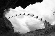 Photo of the Day: John Gibson - Thomas Vanderham. Red Bull Rampage Finals 2010 #MTB #Photography