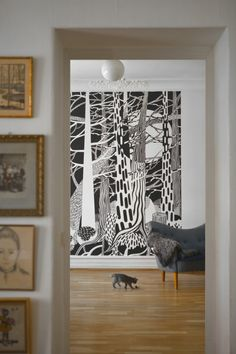 Mural inspiration Fir Forest - Cecilia Pettersson - Wall Mural & Photo Wallpaper - Photowall