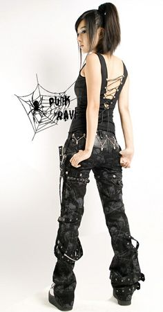 Women Pants,Gothic Pants,Punk Pants,Broken Mesh Pants enjoy your women pants shopping at punkrave shop now! Alternative Metal, Alternative Fashion, Visual Kei, Punk Outfits, Cool Outfits, Fashion Outfits, Harajuku Fashion, Dark Fashion, Gothic Fashion