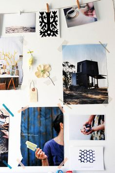 tactile inspiration wall