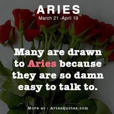 Talk comes easy to us. We're not all chatty. We like our quiet moments too. So, do give us some space k ; Aries Zodiac Facts, Aries And Pisces, Aries Love, Aries Astrology, Aries Quotes, Aries Horoscope, Horoscopes, Quotes Quotes, All About Aries