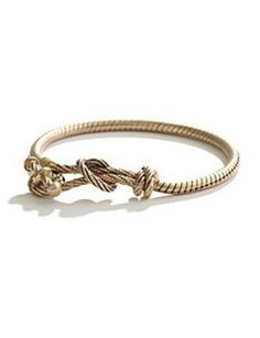 golden braid bracelet from madewell