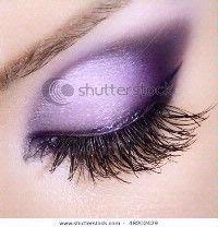 Makeup - MRSKAYLEEMASON's Purple Wedding by Color Blog
